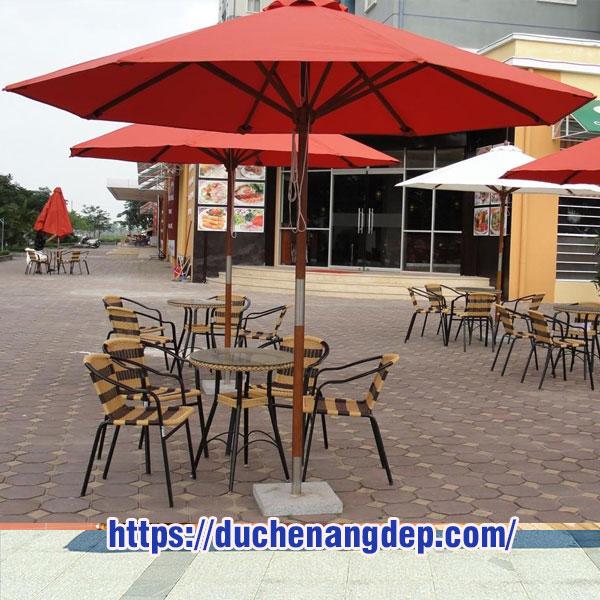 TỔNG HỢP Những Mẫu Dù Che Nắng Đẹp Nhất, Dù Che Nắng Quán Cafe Mẫu Đẹp