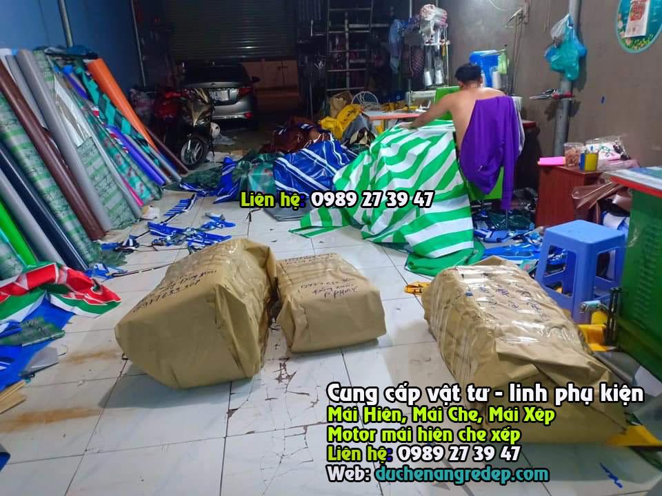 Cơ sở May Bạt Che Nắng Mưa Theo Yêu Cầu Ở Đâu Uy Tín