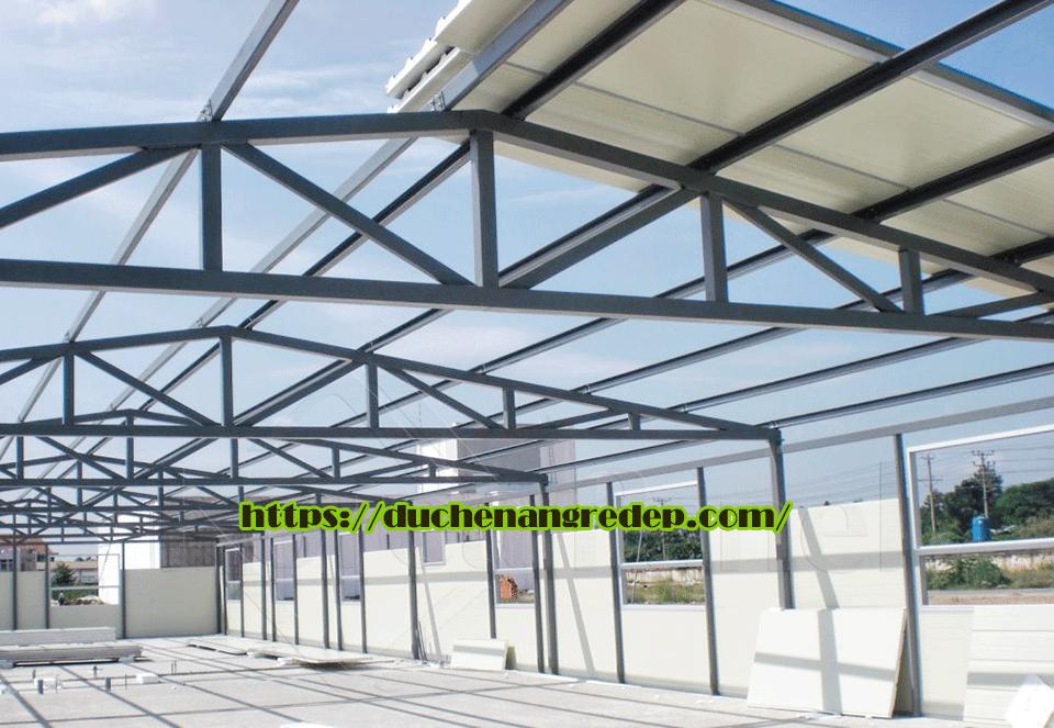 Thi công mái tôn nhà xưởng TPHCM, Bình Dương, Đồng Nai, Lắt Đặt Mái Tôn Nhà Xưởng Uy Tín Giá Rẻ